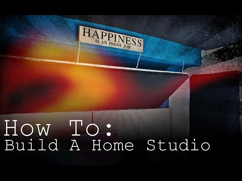 How To Build A Home Studio - IN ONE WEEK!!!