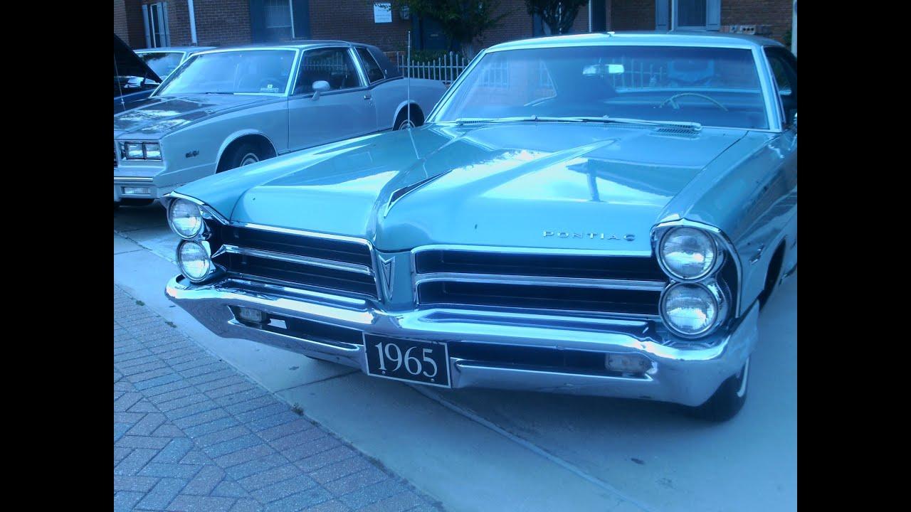 1965 Pontiac Catalina Ventura Hdtp Grn Youtube