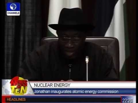 Nuclear Energy:Jonathan inaugurates atomic energy commission.flv
