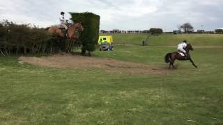 Team chasing at Kingsclere 2016