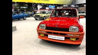 Vintage Car New Presented : The Renault Family from the 1980