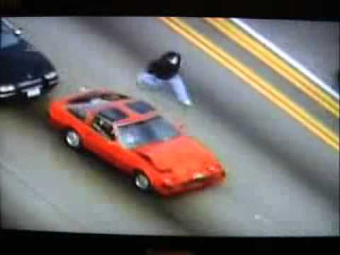 Police Chase on Highway!! 2011