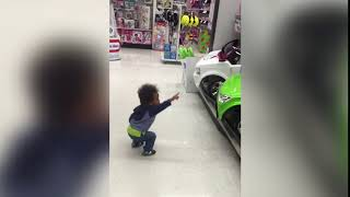Baby Loves Toy Car