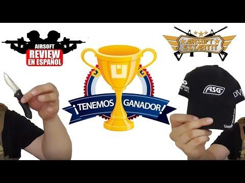 GANADORES SORTEO Airsoft Review en Español HD