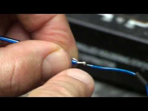 How To Solder A Connector To El Wire