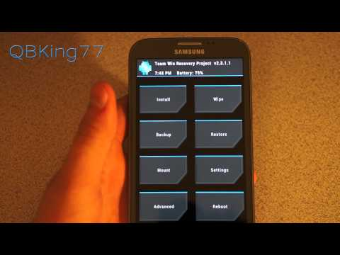 How to Install the JellyBomb Rom on the Sprint Samsung Galaxy Note 2