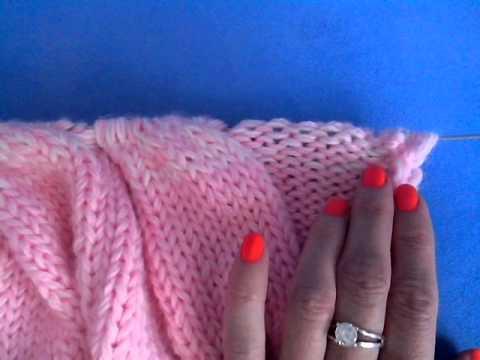 Как вязать рукава лало