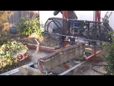 Building a Bandsaw Mill - Part 2