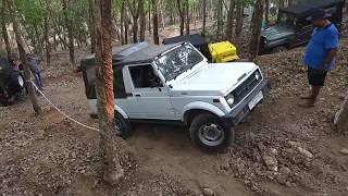 Maruti Suzuki Gypsy 4x4 extreme Off roading Trivandrum 2018