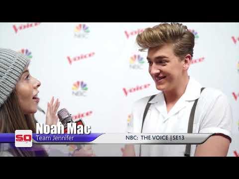 The Voice 13 Top 8 Noah Mac A Chloé Fan, Best Performance Tonight