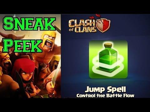 OVERHAULED Plus NEW Level 3!!! SNEAK PEEK - Clash of Clans Update