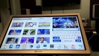Hát online và tải bài hát từ youtube - máy Arirang 3600WTK