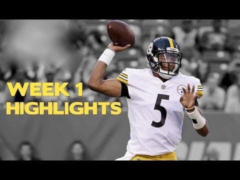 Josh Dobbs Preseason Week 1 Highlights Pittsburgh Steelers