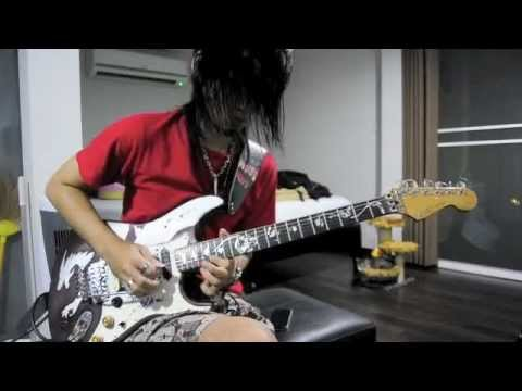 Whispering A Prayer - Steve Vai - Guitar Cover & Improvisation By Heiwa P. Revenant video