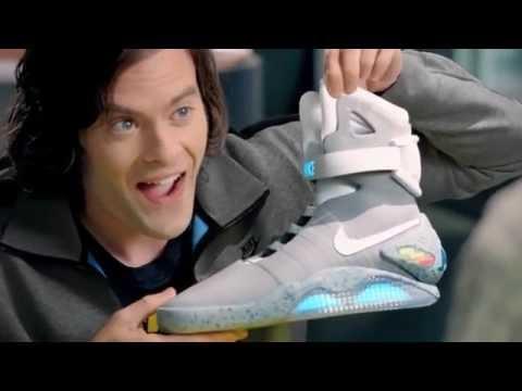 Las zapatillas de Volver al Futuro por fin son una realidad en streaming