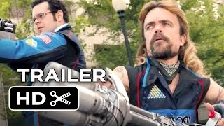 Video clip Pixels Official Trailer #2 (2015) - Adam Sandler, Peter Dinklage Movie HD
