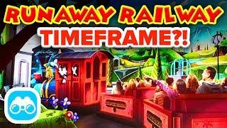 RUNAWAY RAILWAY OPENING DATE! 🚂 - Disney News Update