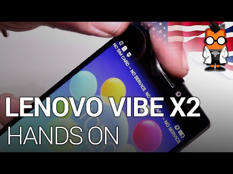 Lenovo VIBE X2: Hands On - First True8Core Smartphone