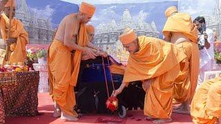 Swaminarayan Akshardham, Robbinsville, NJ Bhumital Pujan