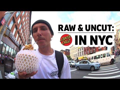 SC Team ripping NYC, FULL timeline | RAW & UNCUT | Santa Cruz Skateboards