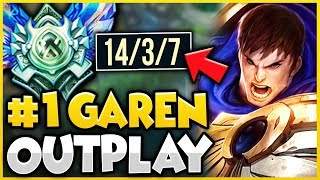YOU WILL NOT BELIEVE HOW I CARRIED THIS GAME WITH GAREN! GAREN TOP GAMEPLAY! - League of Legends