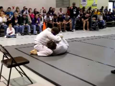 Pankration Competition - Justin Bueche represents Evolution Training in BJJ match Image 1