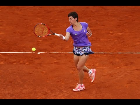 2016 Internazionali BNL d'Italia Second Round | Carla Suarez Navarro vs Pereira | WTA Highlights