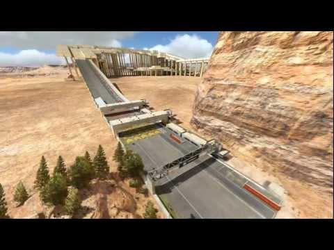 TrackMania 2 Canyon Beta Gameplay - Full Speed by GanjaRider