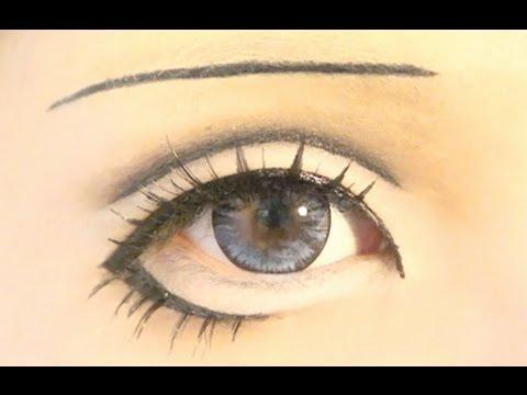 Anime Eyes Makeup Cosplay Tutorial Anime Eye Makeup 18