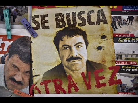 Mexican Interior Minister presser as recaptured drug kingpin 'Chapo' Guzman is to be shown