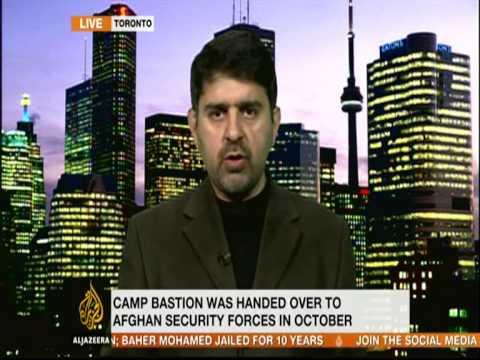 Kamran Bokhari Speaking to alJazeera English on Taliban attacks & US-Afghanistan security agreement