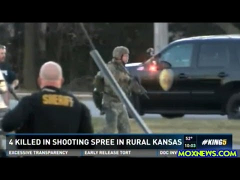4 Dead And 14 Wounded (10 Critically) In Mass Shooting In Kansas!