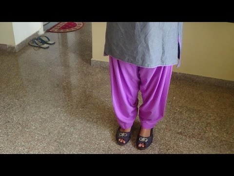 How To Cut And Stitch Patiala Salwar (step By Step) video
