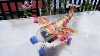 Download How to make an Airplan by Angkor Cans - DIY Airplan 3Gp Mp4