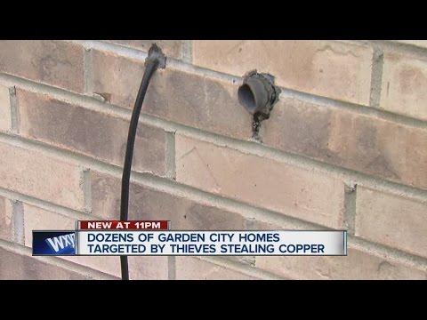Copper thefts in Garden City