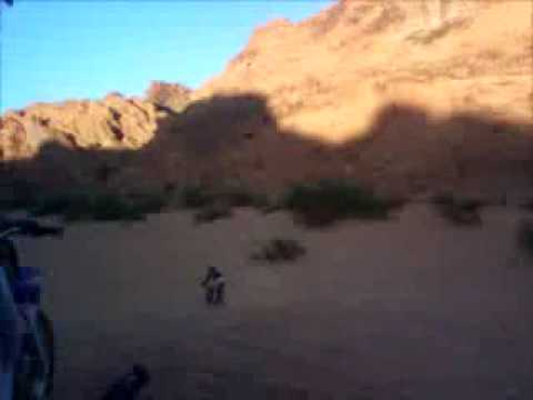 Bikes 2 Nv Ramps Dirt bike jump at red rock