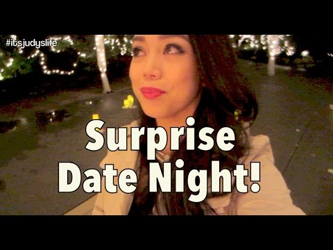 EPIC SURPRISE DATE NIGHT!!! - July 23, 2014 - itsJudysLife Daily Vlog