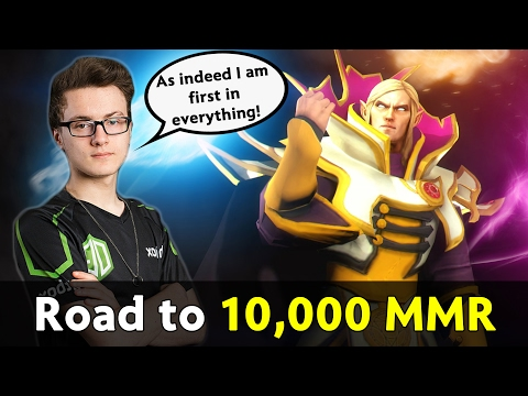 Miracle is back to solo ranked — road to 10,000 MMR