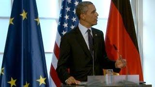 President Obama and Chancellor Merkel Exchange Toasts  6/20/13