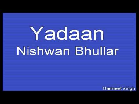 Yaadaan Teri Yaadan | Full Song | Latest Songs 2013 video