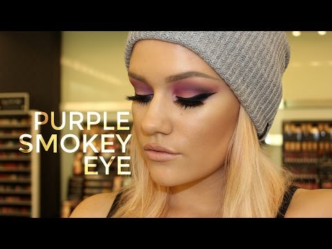 Purple Smokey Eye / UD Electric Palette