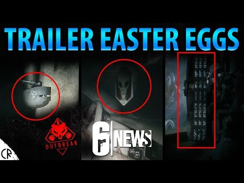 Easter Eggs in Outbreak Trailer - Operation Chimera - 6News - Tom Clancy's Rainbow Six Siege