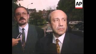 Serbia Arrival Russian Deputy Fm Igor Ivanov