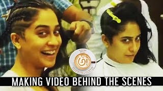 Regina Cassendra Hair Style Making Video | Behind the Scenes #AWE Movie #Regina#Nani #PrasanthVarma