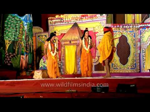 Ramlila Performed At Red Fort On Dussehra video