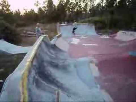 secret skate spot(the property) home movies.......