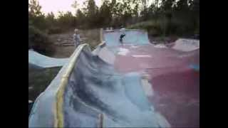 Secret D.I.Y. skate spot (the property) home movies.......