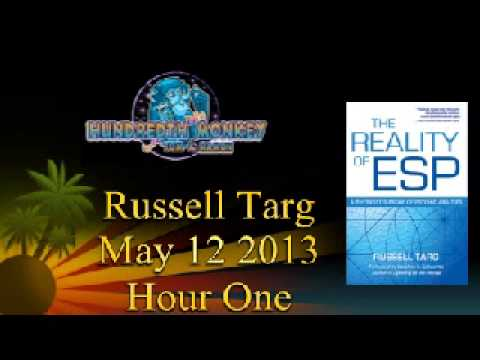 Russell Targ (remote viewing) on The Hundredth Monkey Radio May 12 2013 Hour One