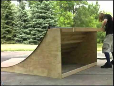 Como hacer una rampa de skate youtube for Como hacer una pileta de cemento
