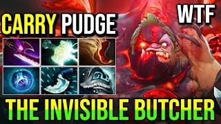 Sakata [Pudge] THE INVISIBLE BUTCHER IS SO FREAKING GOOD 24Kills 7.19d | Dota 2 Highlights